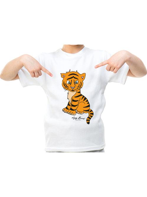 Camiseta infantil Tiger (manga corta)