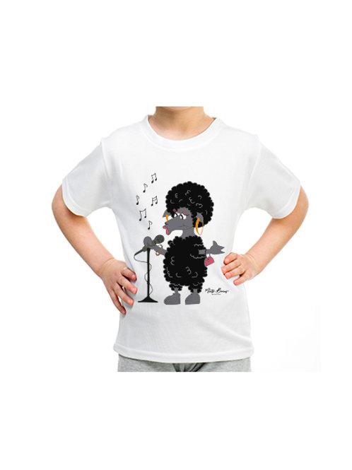 Camiseta infantil Ovy  (manga corta)