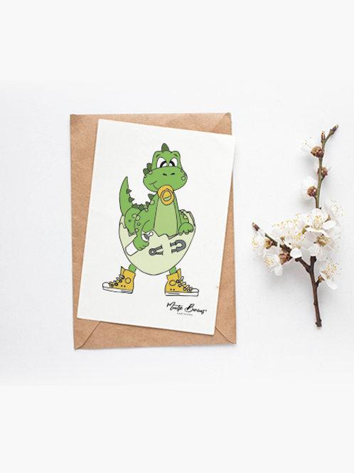 Foto/postal decorativa Diny (10 x15 cm)