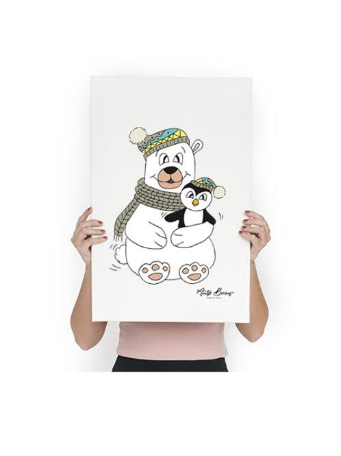 Poster Oso polar (42 x 59,4cm) A2