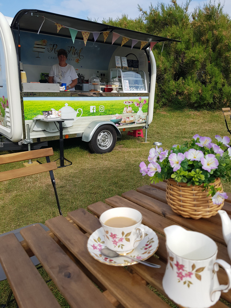 Afternoon Tea Mobile Catering Caterpod
