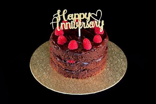 Chocolate Fudge and Raspberry Cake