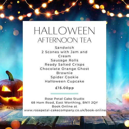 Halloween Adult Afternoon Tea