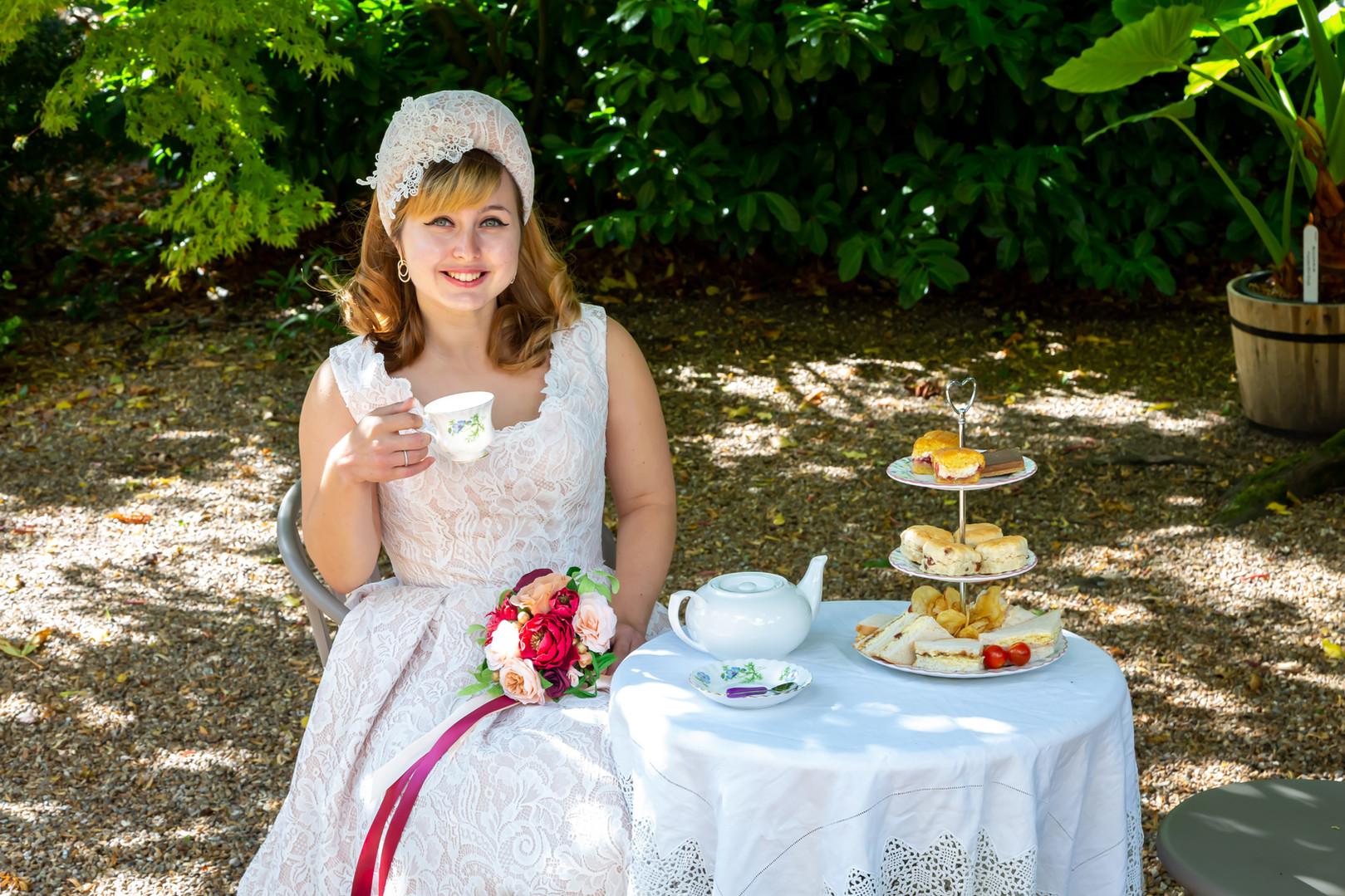 Vintage Bride Afternoon Tea