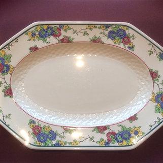 Vintage China Sandwich Buffet Plate