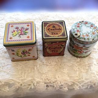Vintage Tea Caddies