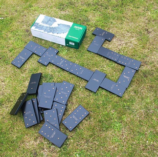 Giant Jacques Dominoes Outdoor Game Hire