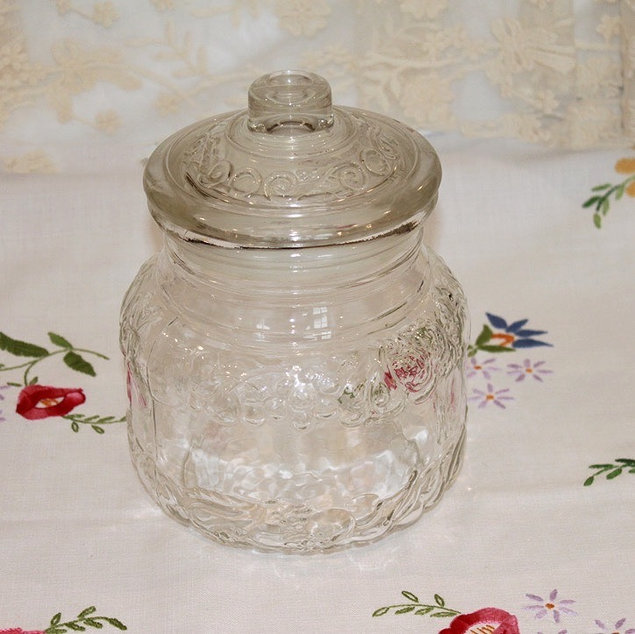 Glass Candy Jar for Your Sweets Trolley