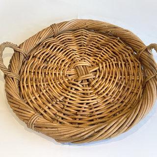 Flat Wicker Bread Basket