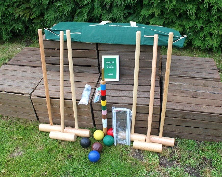 Outdoor Garden Games Hire Croquet Game for Six