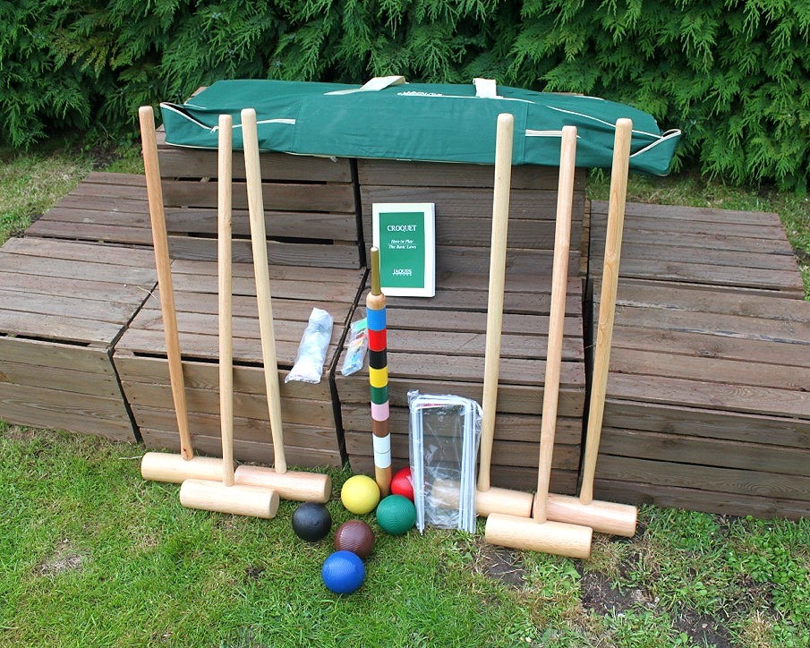 Outdoor Garden Games Hire Croquet Game for Six