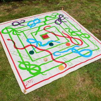 Snakes and Ladders Giant Game Hire