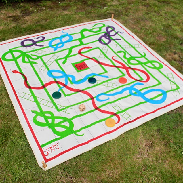 Snakes and Ladders Giant Game
