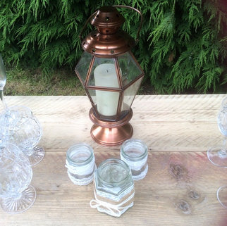 Copper Candle Lantern.