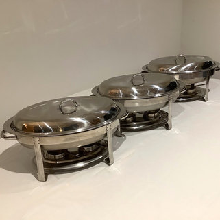 Stainless Steel Chafing Dishes Event Serveware Hire Norfolk