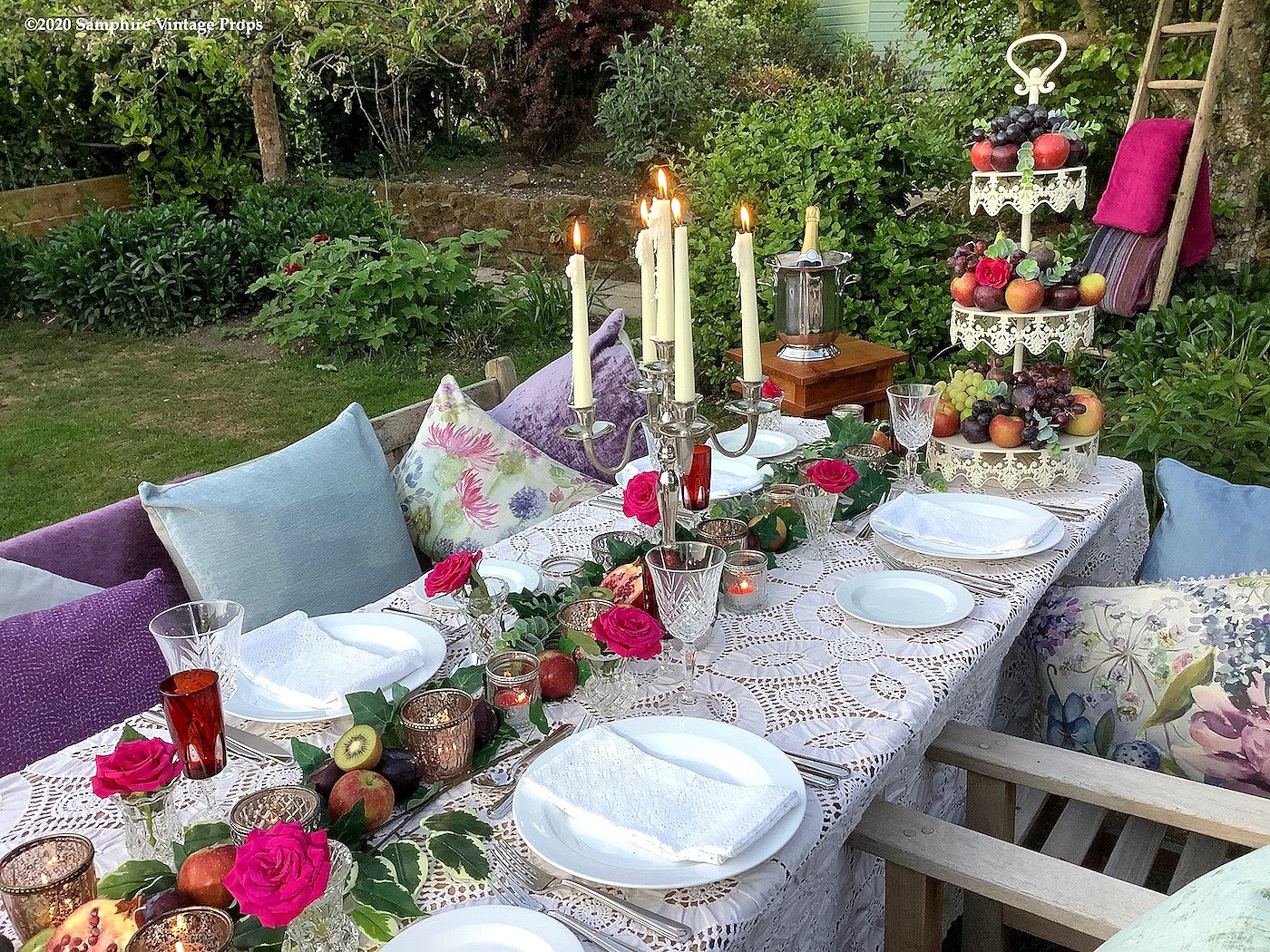 Beautiful Votives and Candelabras