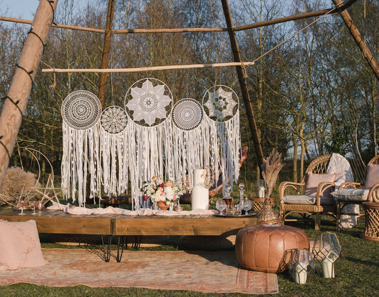 Relaxed-Boho-Lounge-Area-Tipi-Styling-Wedding-and-Event-Prop-Hire-Norfolk