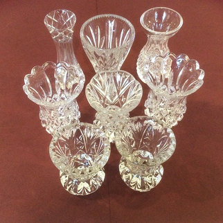 Vintage Mini Bud Vases for Weddings and events Table Decor