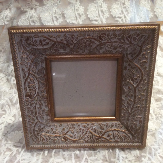 Beautiful Ornate Photo Frame Available to Hire Events and Celebrations