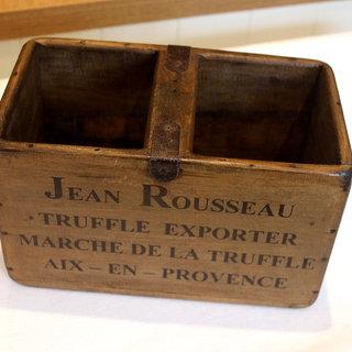 Vintage Style Wooden Truffle Box