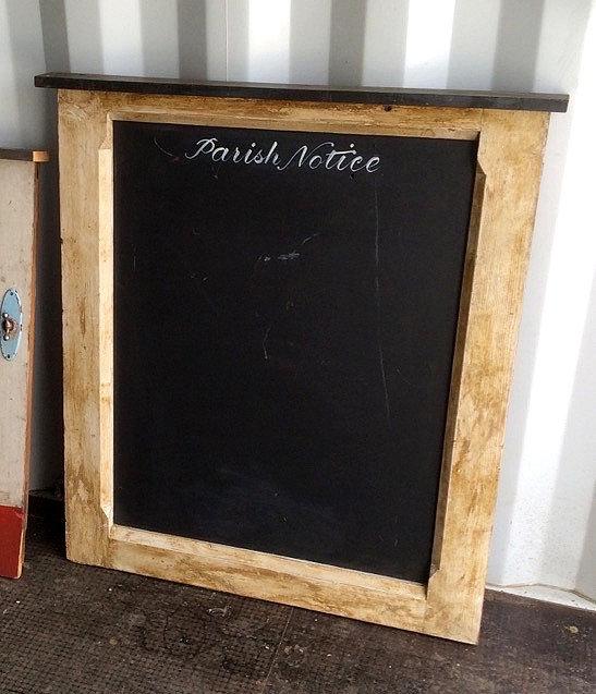 Reclaim Parish Notice Chalkboard Hire Wedding and Event Signage