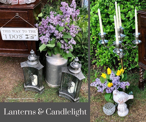 Lanterns and Candlelight