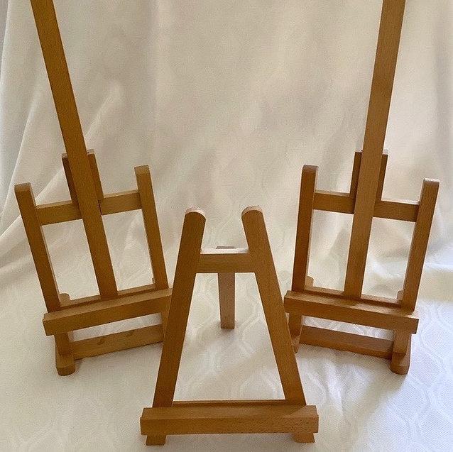 Three Medium Table Top Easels