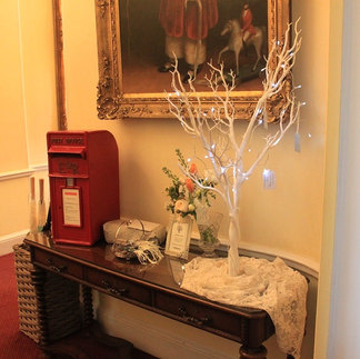 Vintage Post Box & Wishing Tree hire with Handmade Tags & Sign