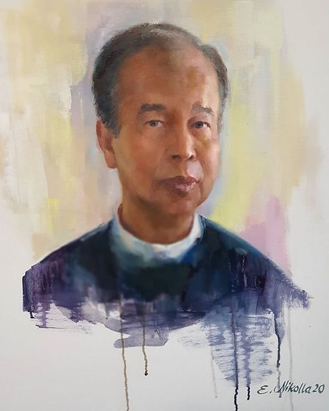 Coronavirus: Artist paints portrait of bus driver colleague who died from Covid-19 – and calls for t