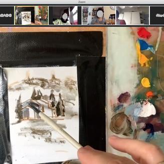 Online Painting Classes - Emil Nikolla -