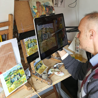 Online Painting Classes - Emil Nikolla.j