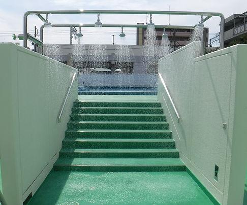 プール強制シャワー2