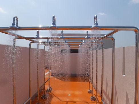 プール強制シャワー1