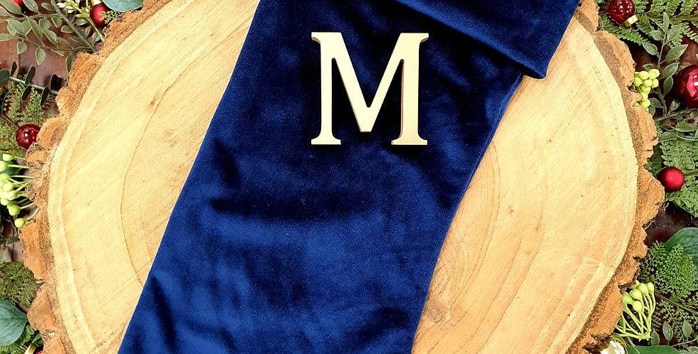 Men's Filled Velvet Stocking