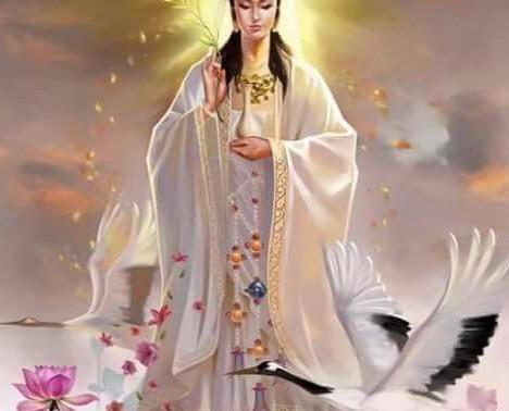 De moeder godin, onvoorwaardelijke liefde en heling.