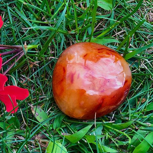 Carneool edelsteen voor buik kracht