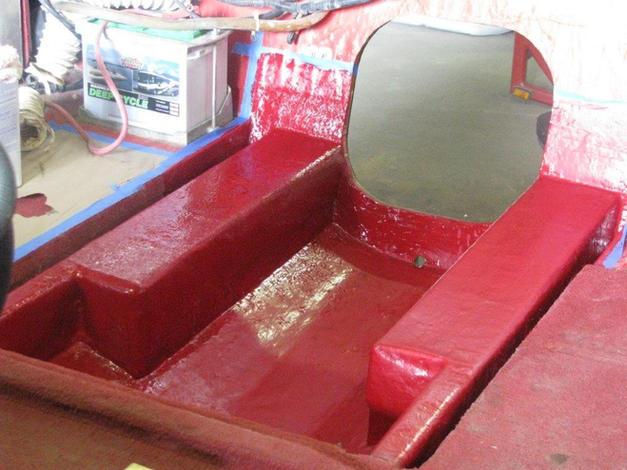 Fiberglass and Gel Coat Repair