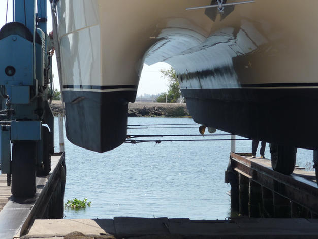 Bottom Paint and Hull Repair