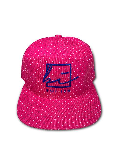 BOi iSH Polka Premium Hat - Pink