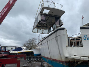 Boat Dismantle/Salvage
