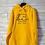 Thumbnail: BOi  Premium 3D Embroidered Hoodie - Yellow