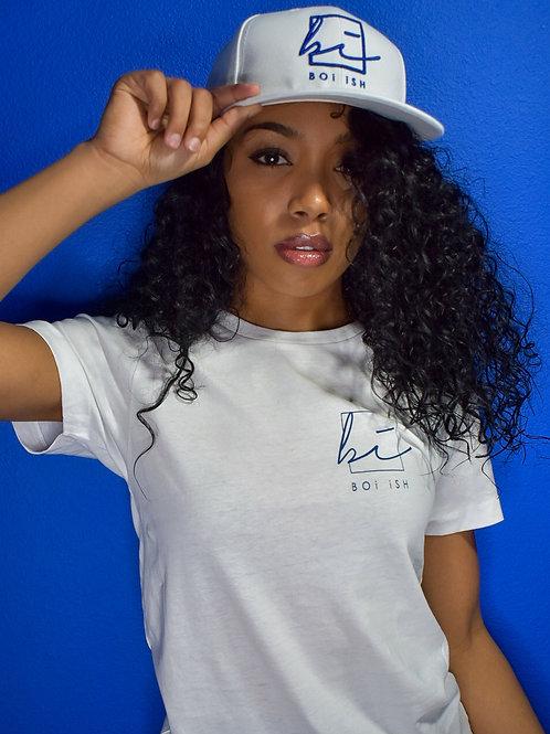 BOi iSH Snapback Hat - White