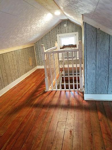 Home Remodeling, refinished floor, trim, murphysboro
