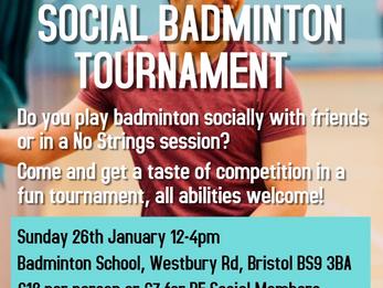 University of Bristol Social Tournament - 26th Jan