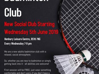 Social Badminton at Henbury Badminton Club