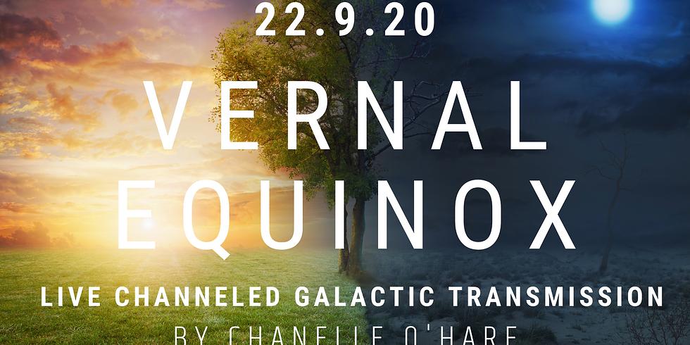 Vernal Equinox Portal Galactic Transmission & Channeling