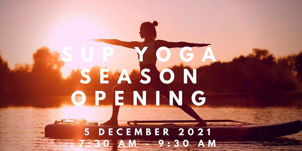 SUP Yoga Season opening