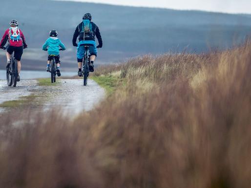 Coast to coast mountain bike ride to raise money for Age Concern