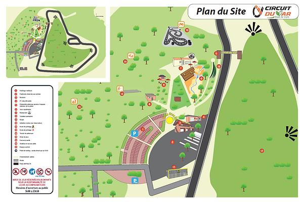 Plan Circuit du Var et base de loisirs.p