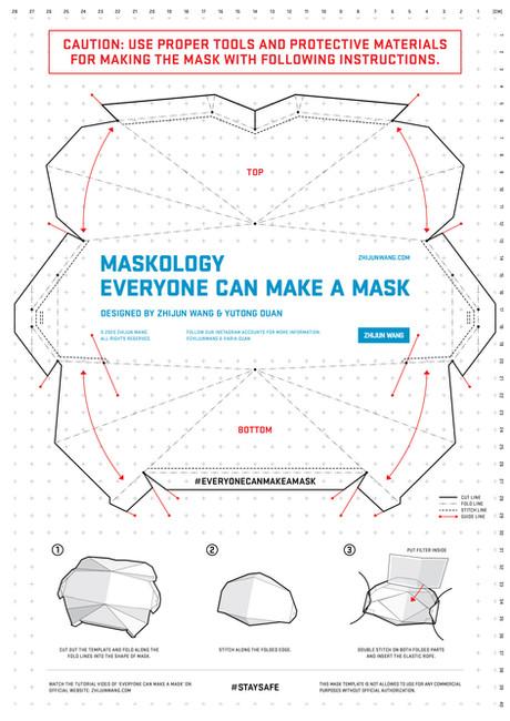 Everyone Can Make A Mask Made By Zhijun Wang & Yutong Duan
